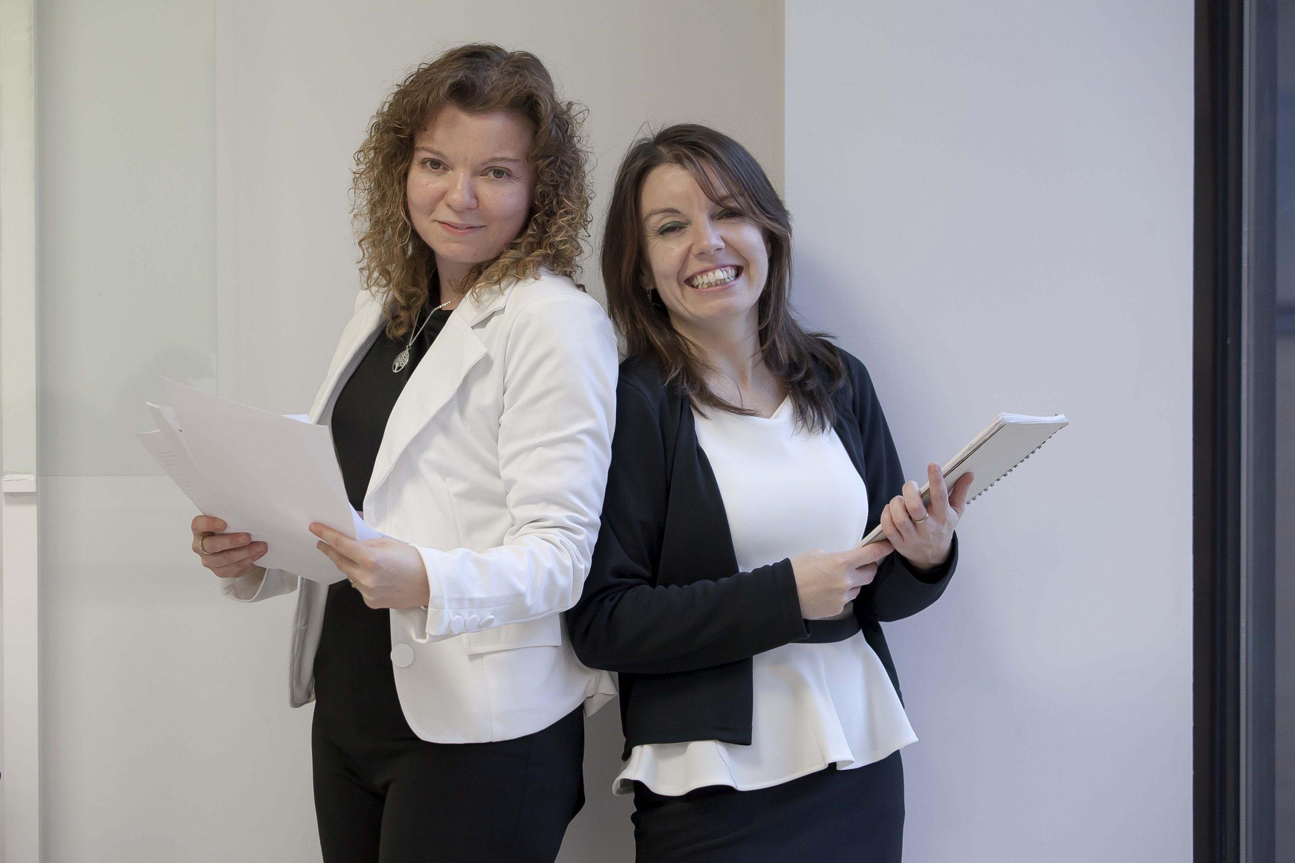 María Ángeles y María José San Segundo