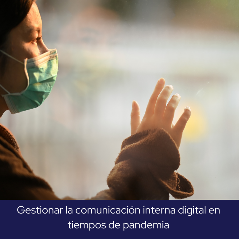 gestionar la comunicación interna en tiempos de pandemia